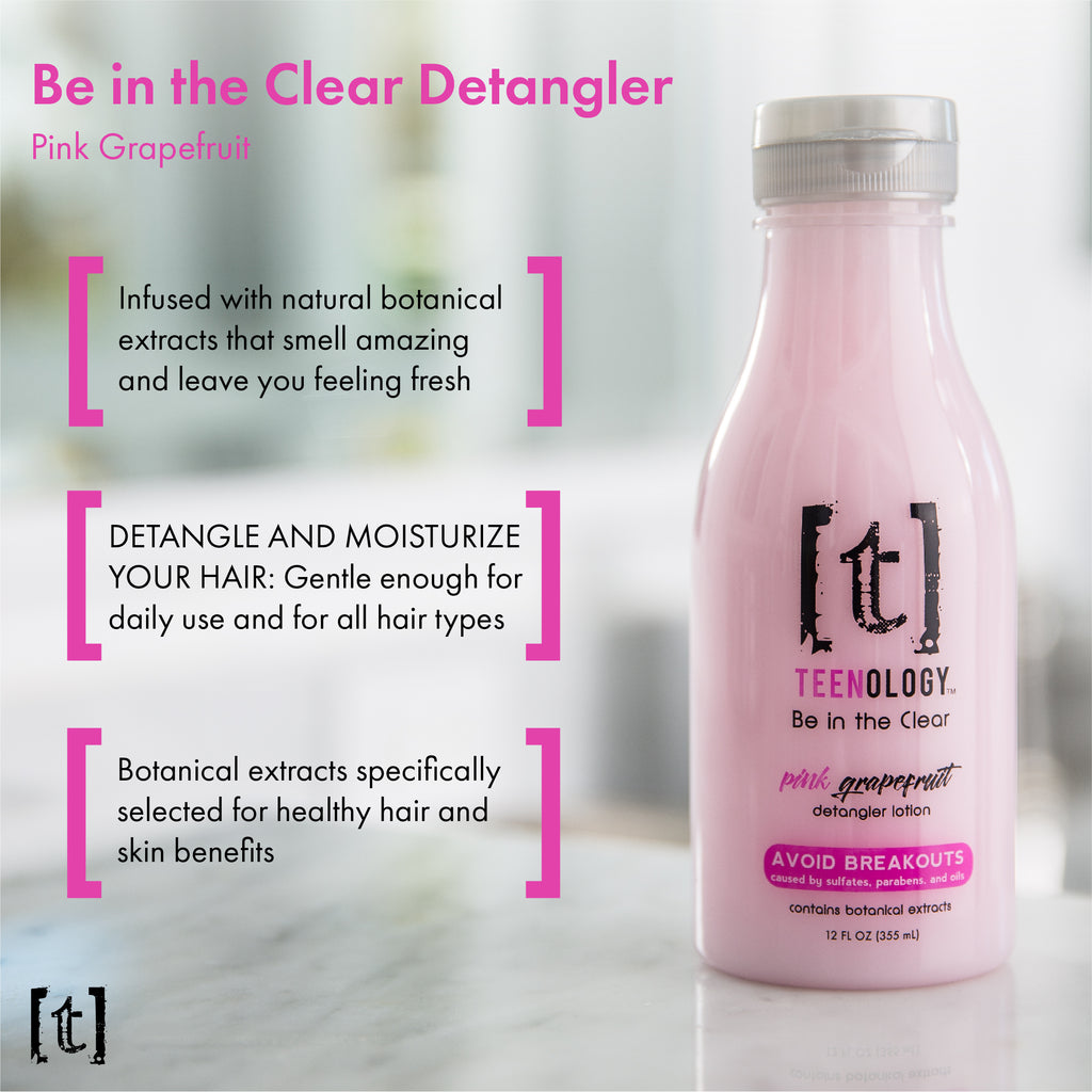 Pink Grapefruit Detangler and Lemonade Styling Cream Set - Save 40%