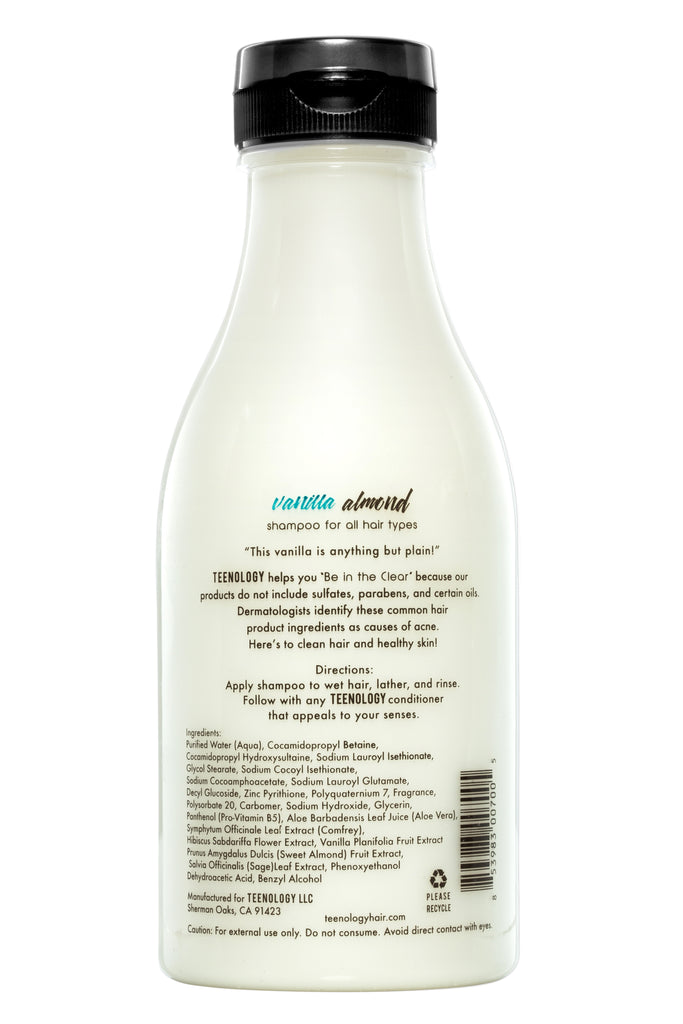 Vanilla Almond Shampoo & Mint Conditioner