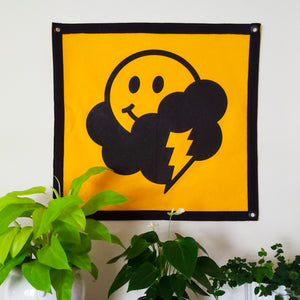 Just Okay Co Wall Flag (Limited Edition)