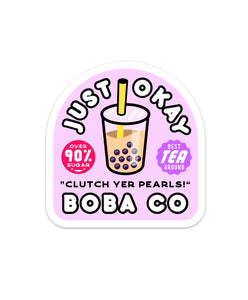 Boba Co Sticker