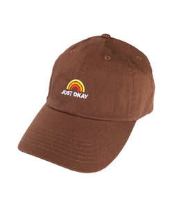 Lucky Rainbow Hat (Brown)