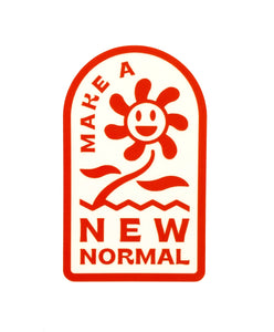 New Normal Sticker