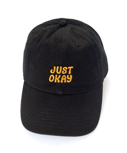 Just Okay Hat (Black)