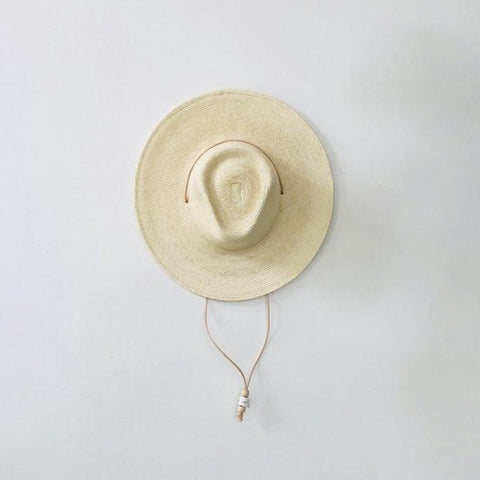 Desert Sun Hat - Natural Guatemalan Palm