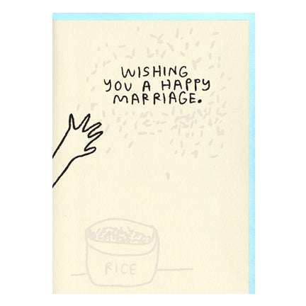 Wishing You A Happy Marriage Card