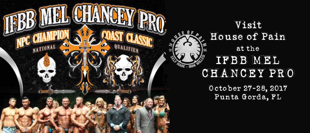 October 27th-28th - IFBB Mel Chancey Pro