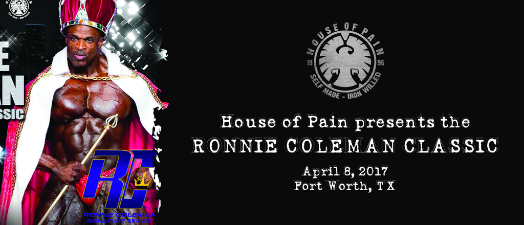 April 8, 2017 - House of Pain presents the Ronnie Coleman Classic