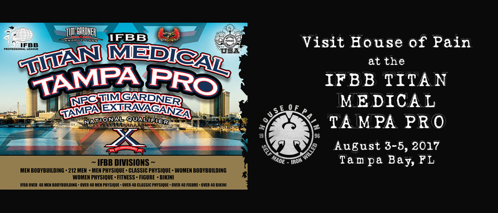August 3rd-5th IFBB Titan Medical Tampa Pro