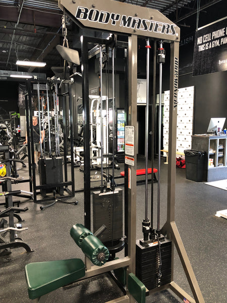 Used Body Masters Lat Pulldown Single Station – House of Pain