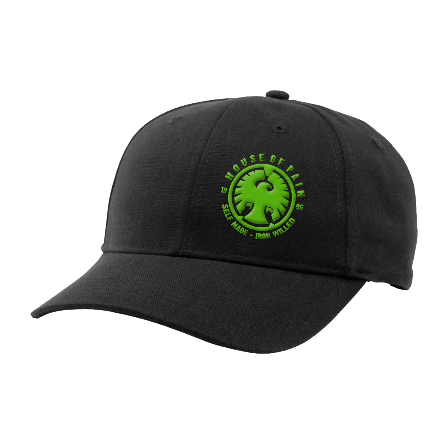Lockup Hat with Green Logo