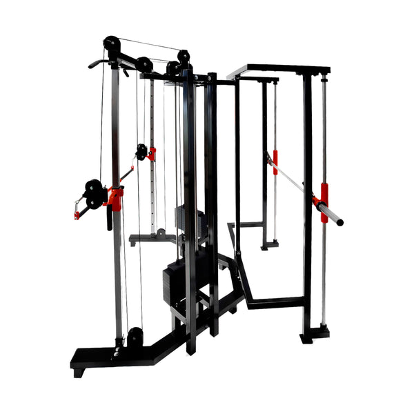 Dual Adjustable Pulley Smith Machine