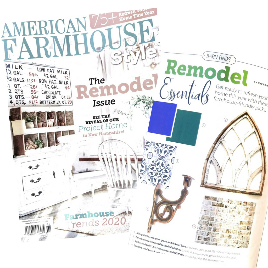 American Farmhouse Style Magazine and Ranch Junkie Mercantile