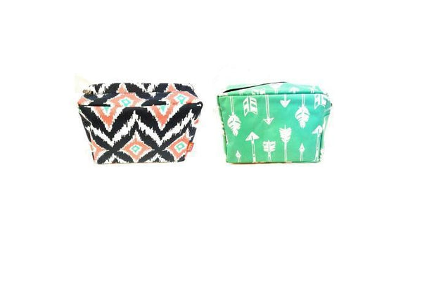Cosmetic Case NGIL Arrow/IKAT Pattern BagsRanch Junkie