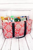 Collapsible Double Haul-It-All Tote Utility Basket BagsRanch Junkie