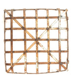 "Large Tobacco Basket- 25"" X 25"" Large Metal Basket- Farmhouse Basket basketRanch Junkie"