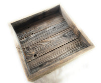 Farmhouse Rustic Barnwood Catch All/Decorative Tray Rustic Barn Wood- The Burrow Catch All and Mason Jar BoxesRanch Junkie