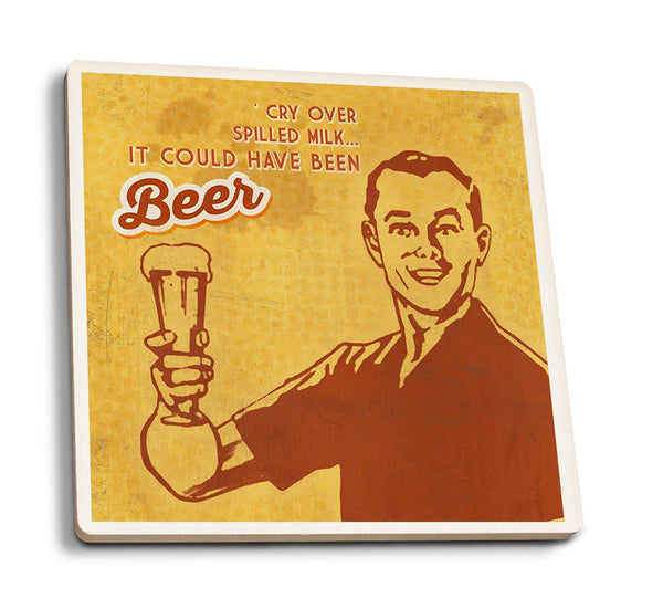 Coasters It Could Have Been Beer Ceramic Coaster Set of 4