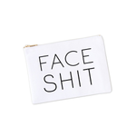cosmetic bags Face Shit Canvas Makeup Bag