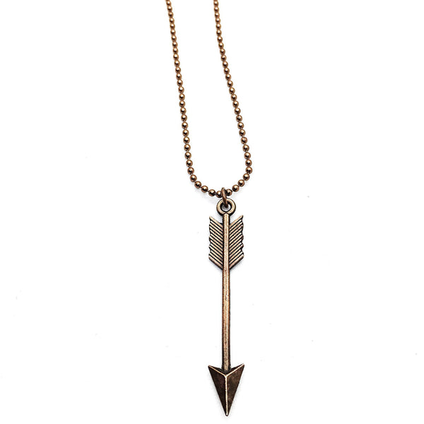 Rustic Arrow Necklace