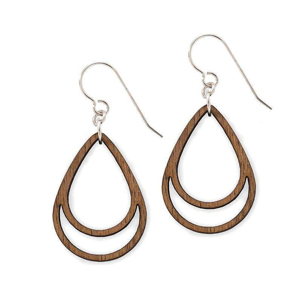 earrings Wood Simple Drop Earrings