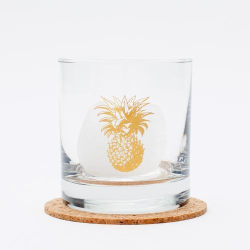 Pineapple Rocks Glass- Cocktail Glass glassRanch Junkie