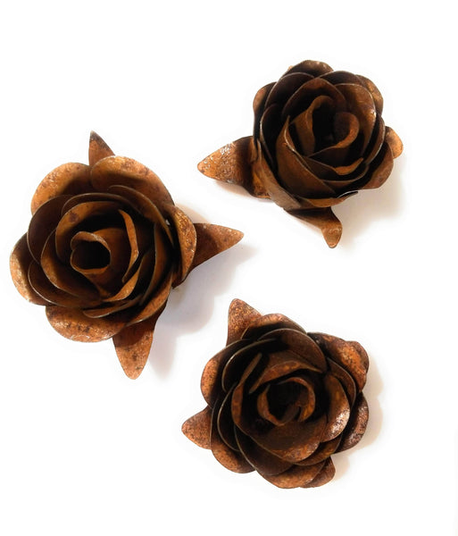 metal decor Rusty Metal Rose- Accent Decor