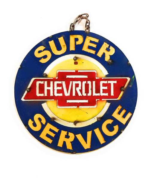 Vintage Inspired Chevrolet Metal Sign- Two sizes Metal SignRanch Junkie