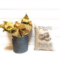 pillows Farmers Market Seed Packet Pillows - Four To Choose From- Farmhouse Garden Vegetable Pillows