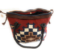purse Southwestern Hand Woven 100% Wool Purse-Handbag- Boho Tote-The Penelope