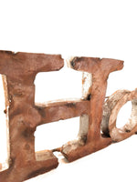 Home Metal Sign Rustic Home Sign Farmhouse Metal Home Sign signRanch Junkie
