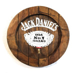 Jack Daniels Large Wooden Whiskey Barrel Sign with Spout - Ranch Junkie