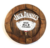Jack Daniels Large Wooden Whiskey Barrel Sign with Spout signRanch Junkie
