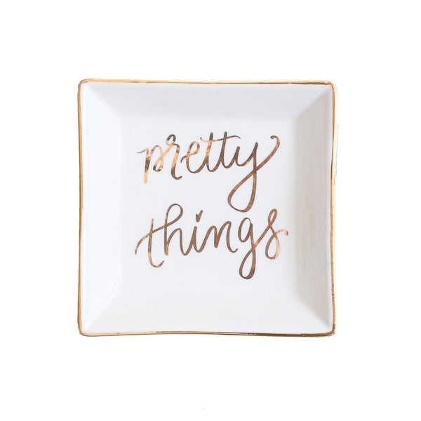 Sweet Water Decor - >Pretty Things Jewelry Dish trinket traysRanch Junkie