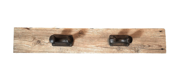 Farmhouse Style Wall Hook/Organizer- 100 year old Barnwood- hat rack/coat rack wall organizersRanch Junkie