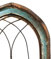 Farmhouse Arched Wood and Metal Window-2 Colors- The Harmony Window wall windowsRanch Junkie