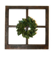 wall windows Rustic Farmhouse Wooden Wall Window 4 Panel Wood Window - The Rustic Creek