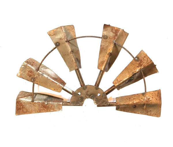 "21.5"" Farmhouse Rustic Half Windmill windmillRanch Junkie"