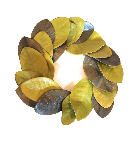"12"" Magnolia Wreath- The South Haven wreathRanch Junkie"