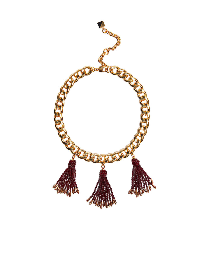 Marie Fringe Necklace