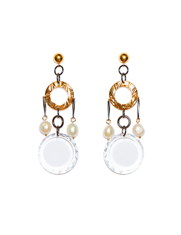 Crystal earrings (stud)