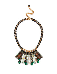 Stella bib necklace