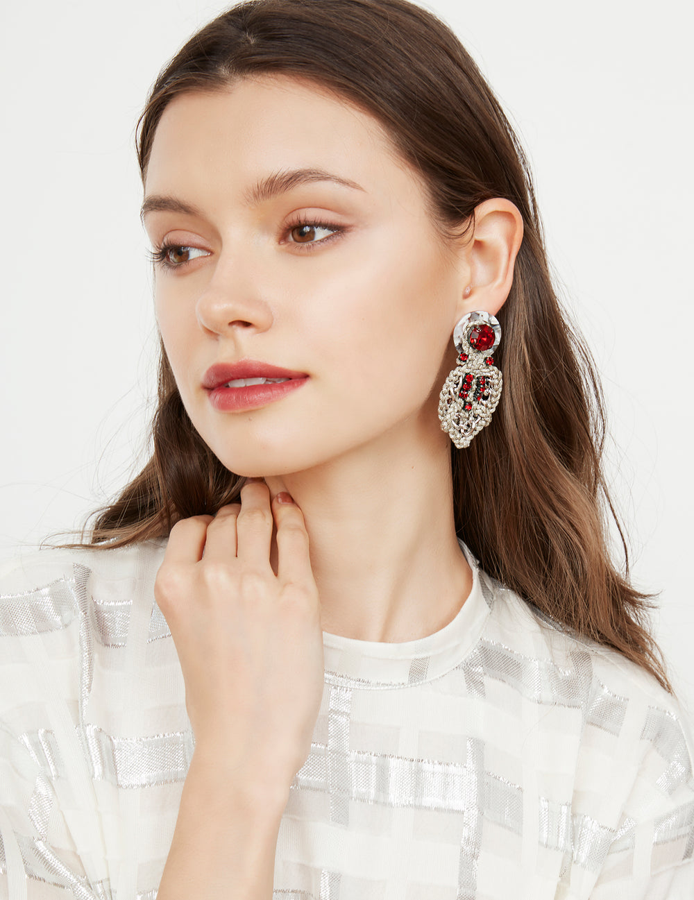 Awasa earrings (stud)