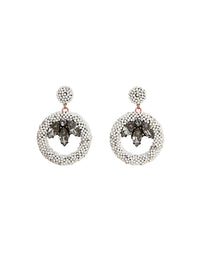 Ruth round earrings (stud)