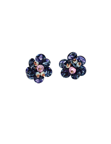 Aria flower earrings (stud)
