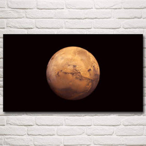 Mars Planet  Poster - SpaceX  merchandise