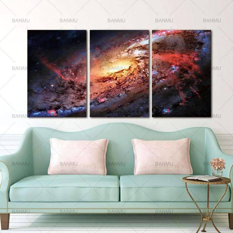 Space and Universe  Canvas - SpaceX  merchandise