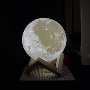 ENCHANTING MOON NIGHT LIGHT - SpaceX  merchandise