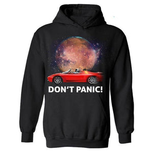 Don't Panic ! Hoodie - Space Shop