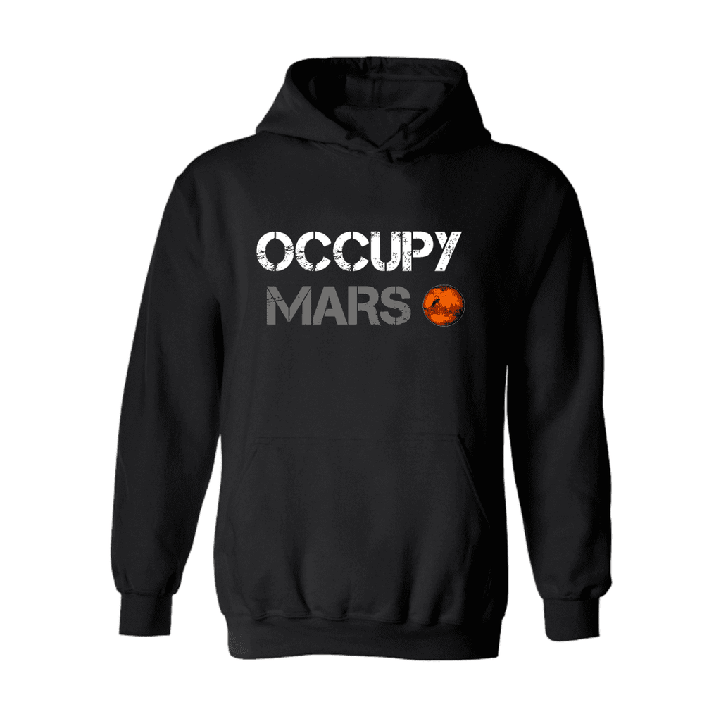 Occupy Mars Hoodie - Space Shop