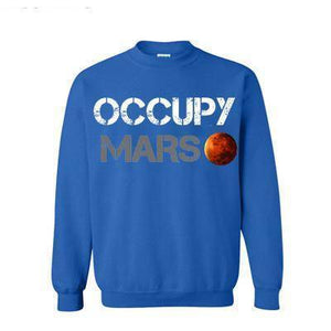 Occupy Mars Sweatshirt Men - SpaceX  merchandise